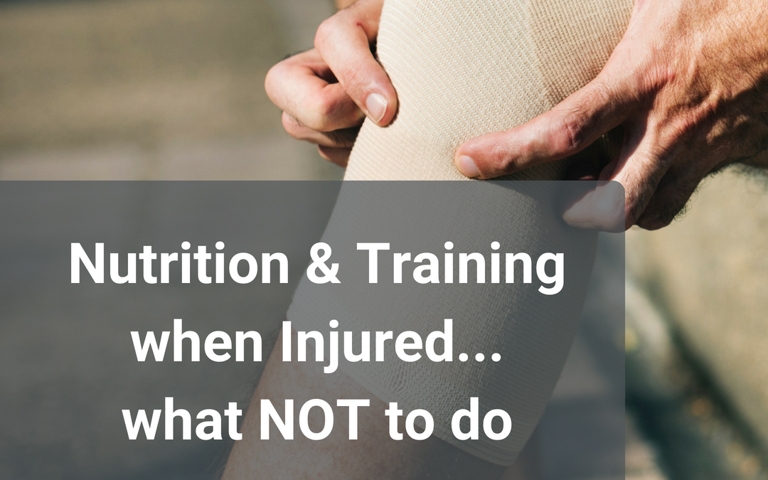 Nutrition When Injured