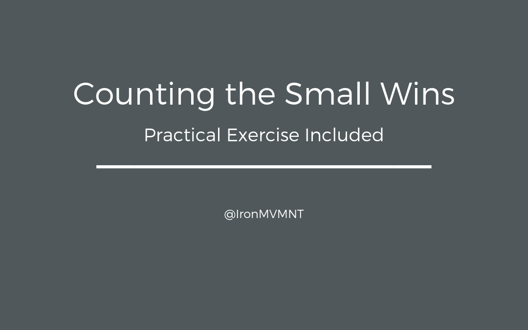 Counting the Small Wins – Practical Exercise Included