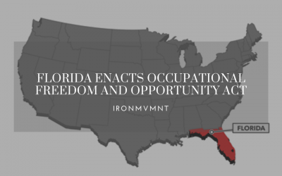 CrossFit & Dietitians Collide – Florida Enacts Occupational Freedom and Opportunity Act